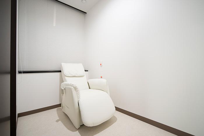 個室・検査前準備室